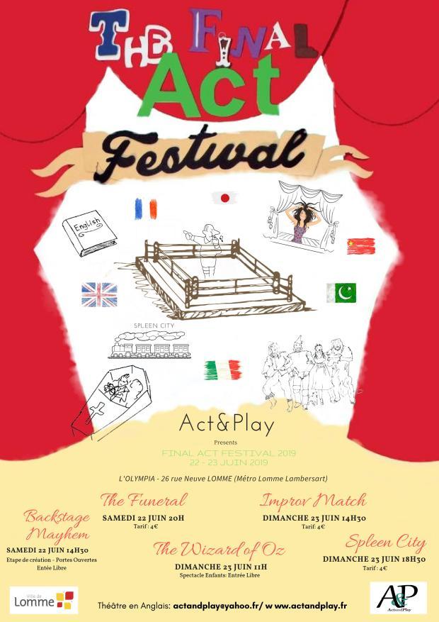 Affiche Final Act Festival 2019